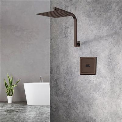 BathSelect Light Oil Rubbed Bronze Sensor Controlled Automatic Shower Set