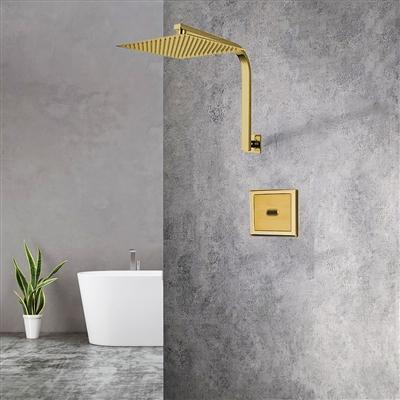 BathSelect Gold Sensor Controlled Automatic Shower Set
