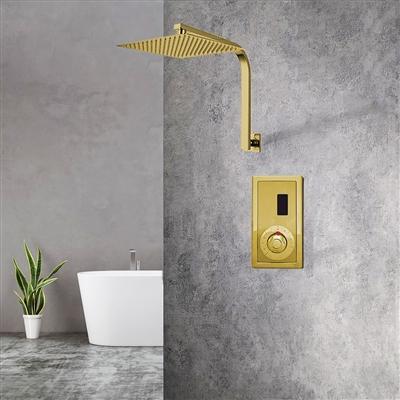 Sensor Controlled Automatic Gold Shower Set