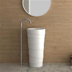 Freestanding Pedestal Vanity Sink
