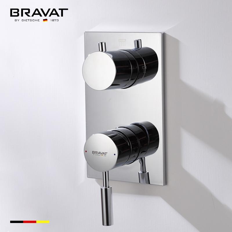Bravat Solid Brass Wall Mount Shower Mixer