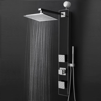 "Fontana 35"" Shower Panel Shower Head with Handheld Shower"