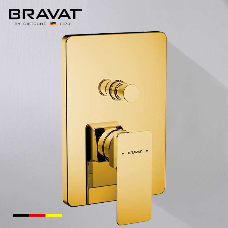 Solid Brass Square Shower Mixer