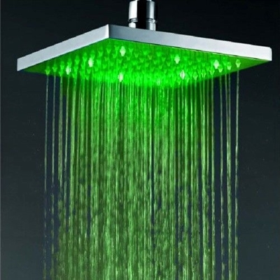 Brio LED Wall Mount Rain Shower System