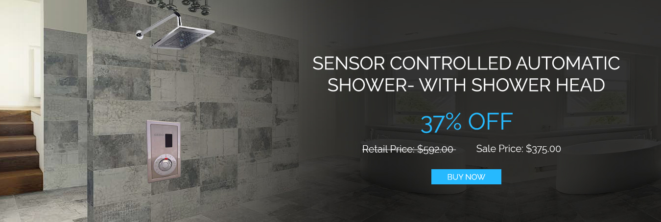 Sale Ends Soon On Sensor Controlled Automatic Showers | Bathselect