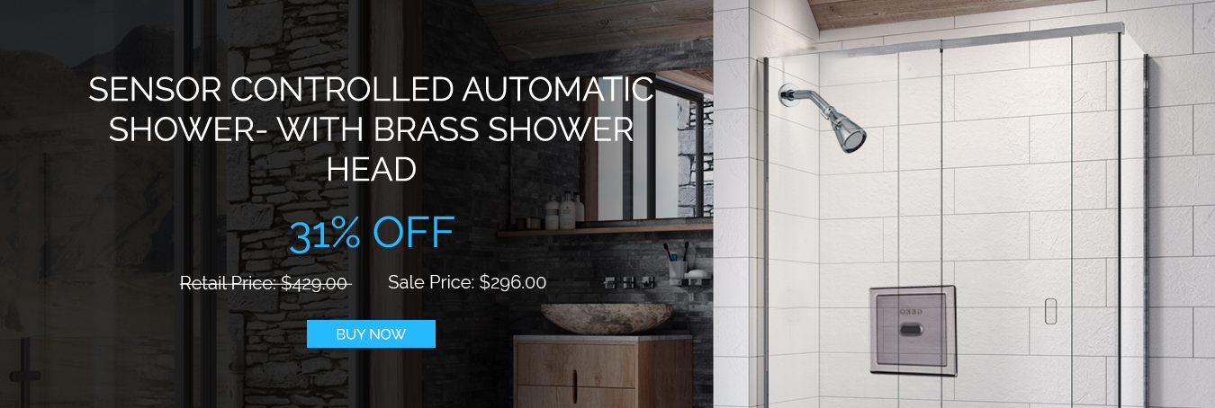 Buy Automatic Showers Sensor Controlled | Shower Sets & Heads
