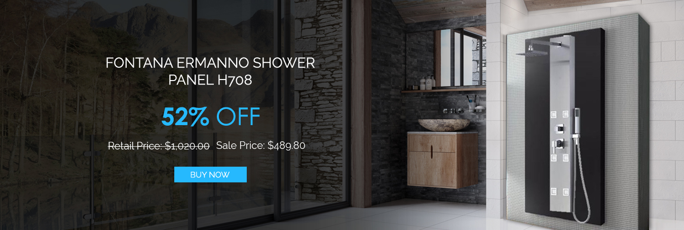 Final Days To Save Up To 52% On Best Shower Panels